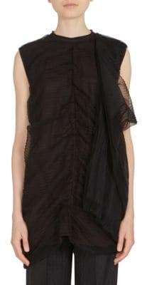 Rick Owens Smash Tulle Top