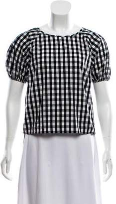 Joie Gingham Print Top w/ Tags