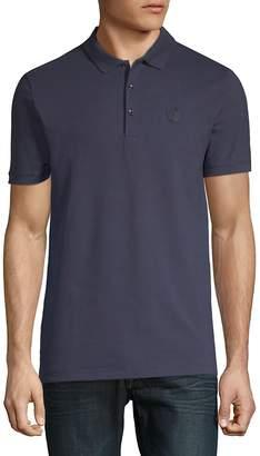 Versace Men's Contrast Polo Shirt