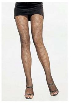 Women's Spandex Fishnet Pantyhose, Royal Blue, One Size
