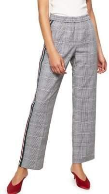 Miss Selfridge Striped Plaid Pants