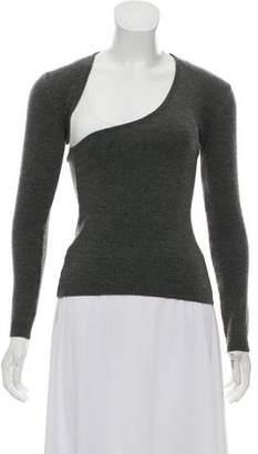 Barbara Bui Long Sleeve Cutout Sweater