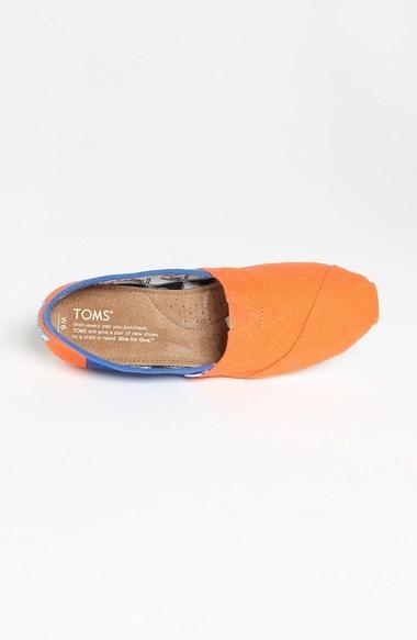 Toms 'Campus Classics - University of Florida' Slip-On (Women)