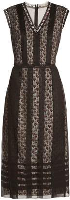 Bottega Veneta Layered silk-organza dress