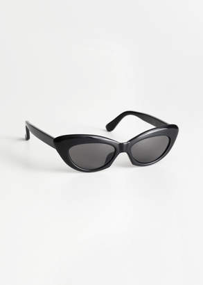 Cat Eye Rounded Sunglasses