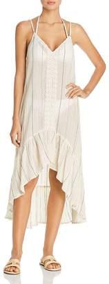 Surf.Gypsy Sunset Stripe Dress Swim Cover-Up