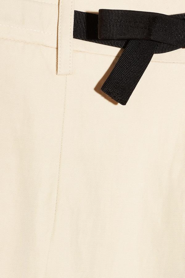 Roland Mouret Neckett twill shorts