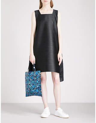 Pleats Please Issey Miyake Pleated knee-length dress