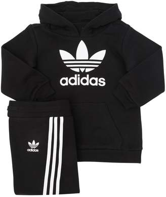 adidas Cotton Sweatshirt Hoodie & Sweatpants