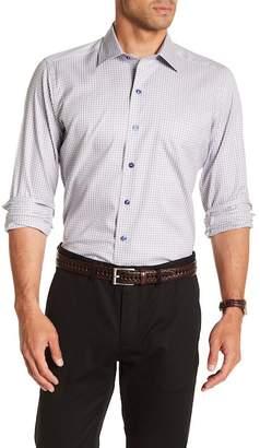 David Donahue Check Casual Fit Shirt