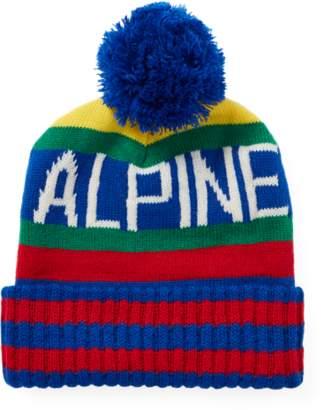 2a443db81f5 ireland at ralph lauren ralph lauren hi tech alpine pom pom hat d5f63 5817e