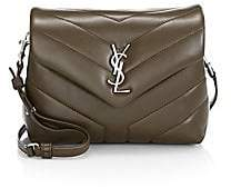 Saint Laurent Women's Toy Loulou Matelassé Leather Crossbody Bag