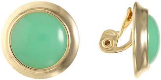 MONET JEWELRY Monet Jewelry Green Clip On Earrings
