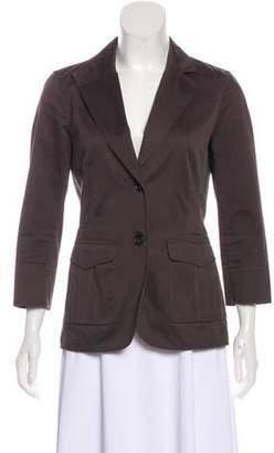 The Row Long Sleeve Notch-Lapel Jacket