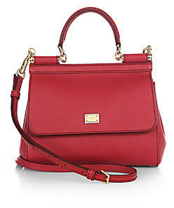 52072df4ac Dolce   Gabbana Dolce  Gabbana Dolce  Gabbana Women s Small Sicily Leather  Top Handle Satchel