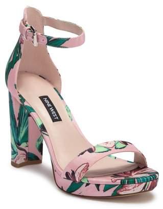 Nine West Dempsey Ankle Strap Platform Sandal