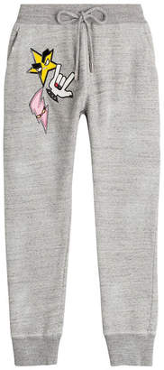 DSQUARED2 Cotton Sweatpants with Patches