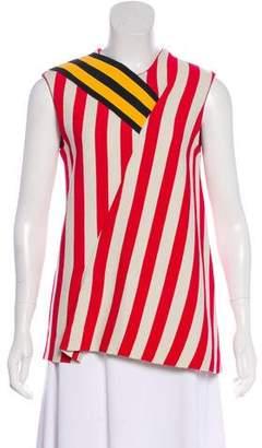 Calvin Klein Striped Sleeveless Blouse w/ Tags