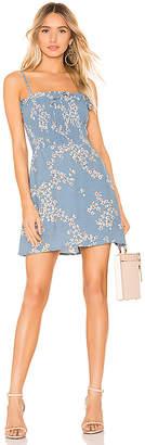 Faithfull The Brand Marni Shirred Dress