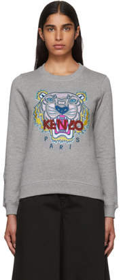 Kenzo Grey Classic Tiger Sweatshirt