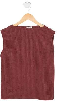 Amelia Milano Girls' Wool Sweater Vest