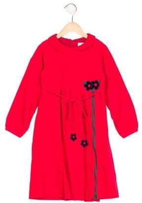 Florence Eiseman Girls' Corduroy Appliqué Dress