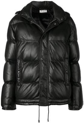 Saint Laurent loose padded jacket