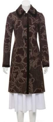 Etro Patterned Wool Coat