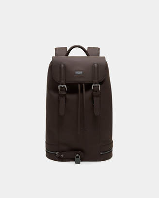 Ted Baker SADSAC Rubber leather backpack