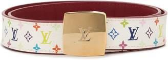 Louis Vuitton Pre-Owned Saint-Cure cut buckle belt
