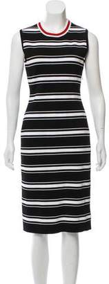 Givenchy Striped Midi Dress