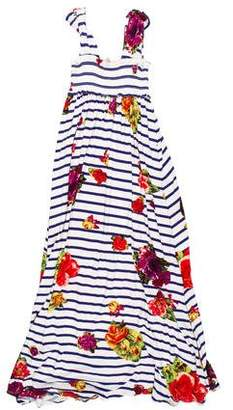 Jean Paul Gaultier Girls' Printed Maxi Dress