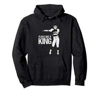 Flossing Dance Floss like a King American Football Hoodie