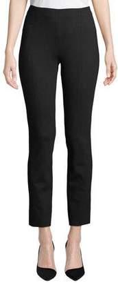 Misook Ponte Slim-Leg Pants, Plus Size