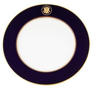 Fitz & Floyd Set of 7 Reagan Presidential Porcelain Dinner Plates