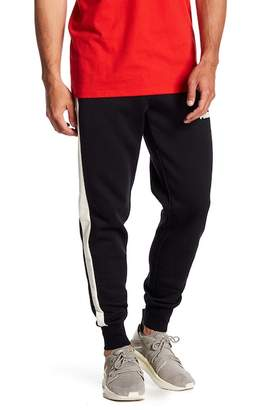 Puma T7 Insert Faux Suede Track Pants