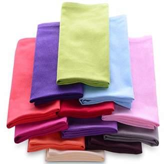 Cotton Dinner Napkins Cloth 20 x 20 100% Natural Bulk Linens for Dinner