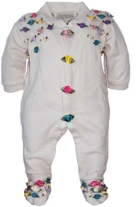 Couture Scarecrow Baby Onesie