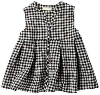 Soprano Gingham Button Down Top (Big Girls)