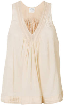 Forte Forte lace back tank top