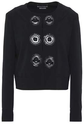 Moschino Button-detailed Crepe Jacket
