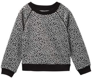 Pippa Pastourelle by and Julie Leopard Raglan Top (Toddler Girls)