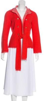 Chanel Bouclé Embellished Jacket