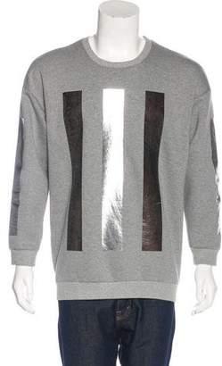 Miharayasuhiro Metallic Striped Sweatshirt