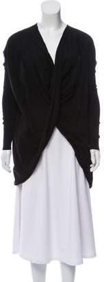 AllSaints Wool Draped Sweater