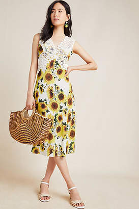 Tracy Reese Hope for Flowers by Francoise Sleeveless Midi Dress