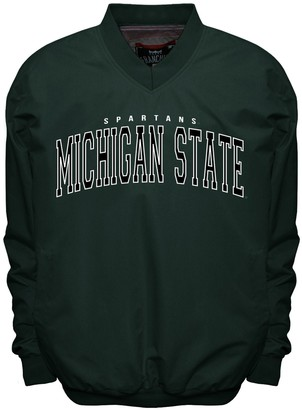 NCAA Men's Franchise Club Michigan State Spartans Members Windbreaker Pullover