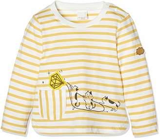 Disney (ディズニー) - [ディズニー] アニマルアップリケ長袖Tシャツ MACHOUCHOUTE イエロー 日本 95 (日本サイズ95 相当)
