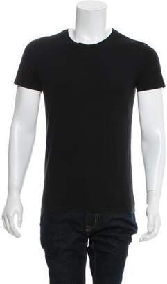 Balmain Woven Crew Neck Shirt