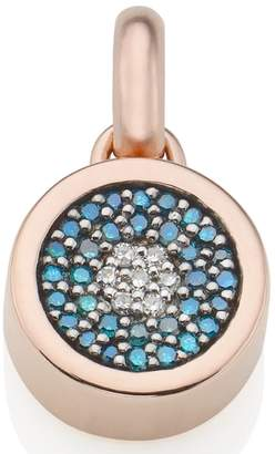 Monica Vinader Evil Eye Diamond Pendant